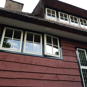 Schone ramen geven een verzorgd uiterlijk